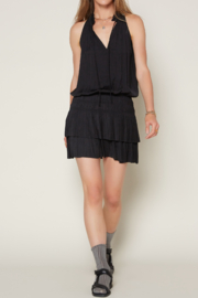 Current Air Smocked Tiered Ruffle Drop Waist Dress - Product Mini Image