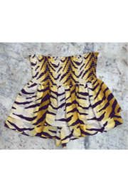 Adrienne Smocked Tiger Short - Product Mini Image