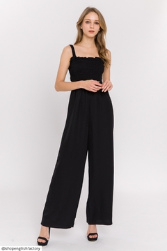 English Factory Smocked Top Jumpsuit - Product List Image