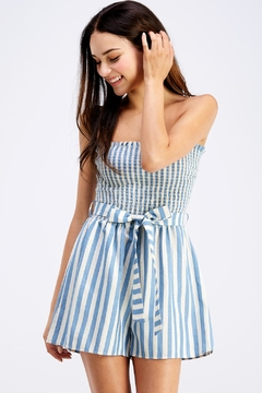 Shoptiques Product: Smocked Tube Romper