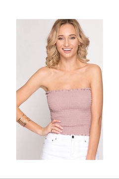 Shoptiques Product: Smocked Tube Top