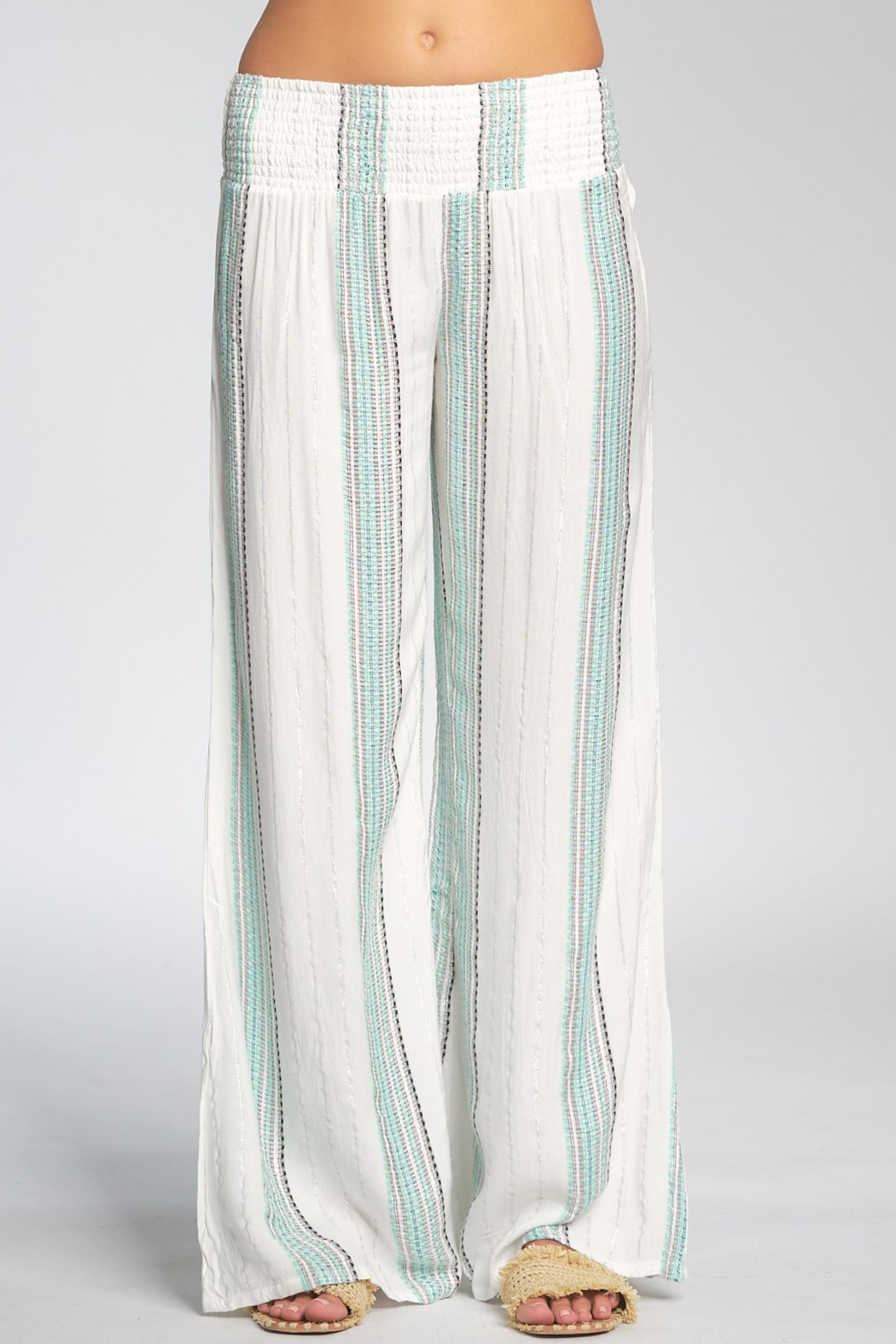 Elan  Smocked Waist Band Pants - Main Image