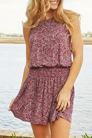 Natural Life Smocked Waist Dress - Front cropped