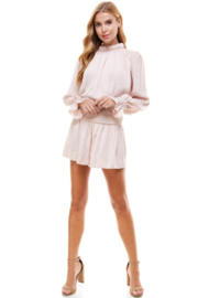 TCEC Smocked Waist Short - Side cropped