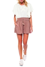 Dex Smocked Waist Short - Product Mini Image
