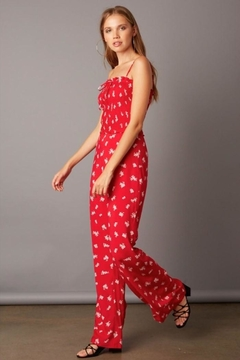 51712832d65 ... Cotton Candy Smocked Wide-Leg Jumpsuit - Product List Image