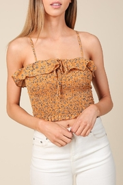 Timing Smocking Top - Front cropped