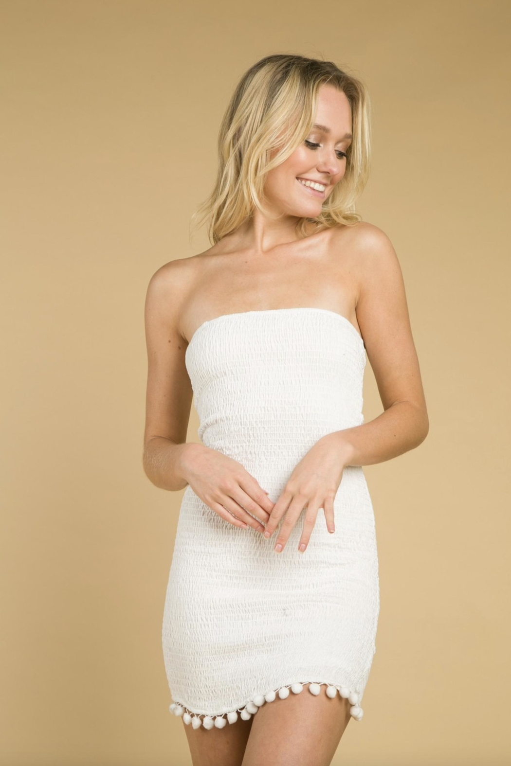 bf032e79d4e Wild Honey Smocking Tube-Top Dress from Florida by Apricot Lane St ...