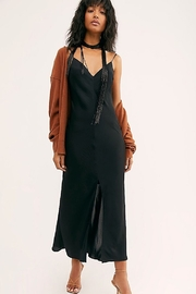 Free People Smoke & Mirrors Maxi Slip - Front cropped