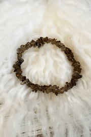 The Birch Tree Smokey Quartz Chip Bracelet - Product Mini Image