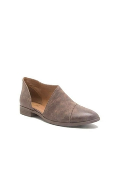 Qupid Smooth Bootie Brown - Product List Image