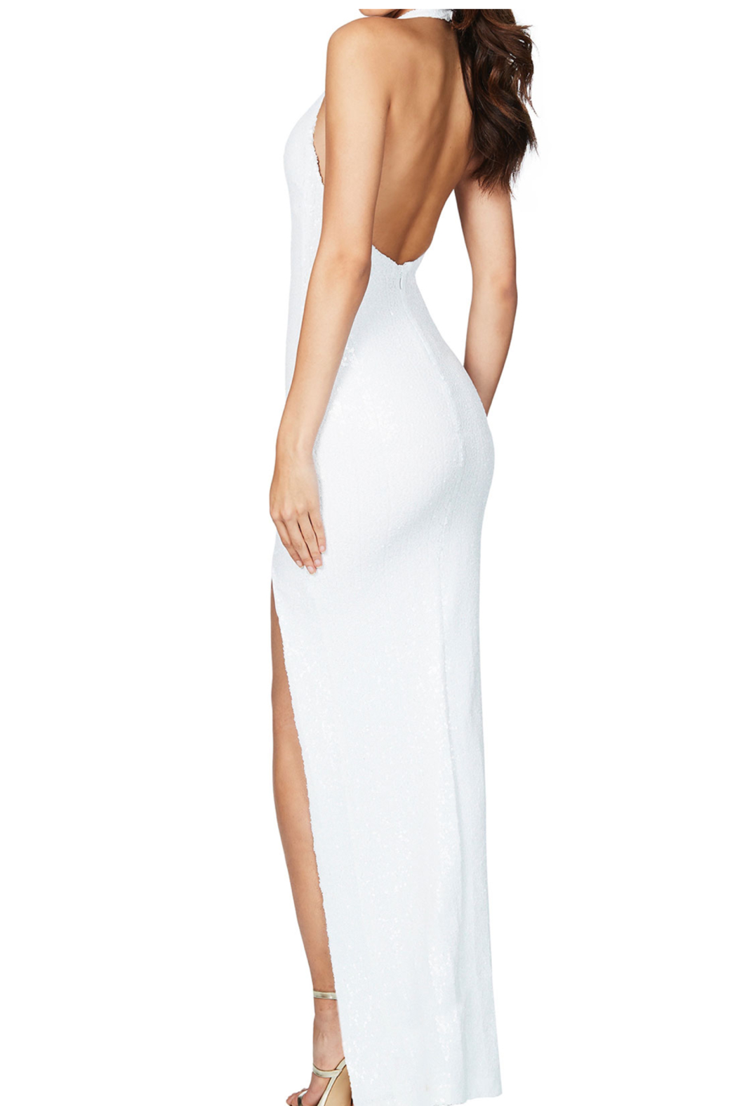 Nookie Smoulder Gown - Side Cropped Image