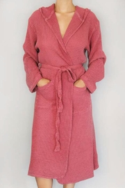 Smyrna Collection Bamboo Waffle Robe - Product Mini Image