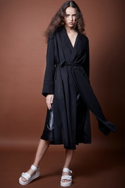 Smythe Bathrobe Black Trench - Product Mini Image