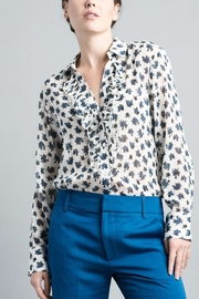 Smythe Flower Tuxedo Shirt - Product Mini Image