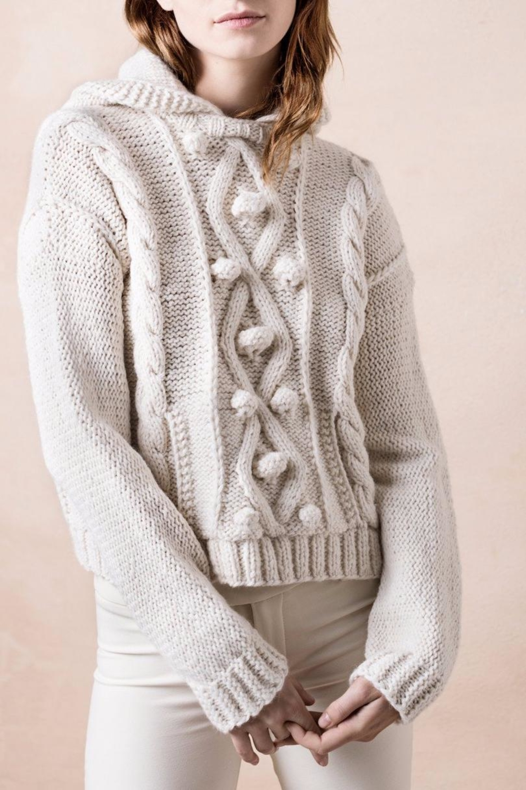 Smythe Knit Cable Sweater - Main Image