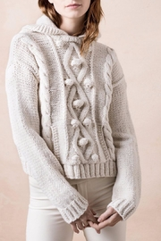 Smythe Knit Cable Sweater - Front cropped