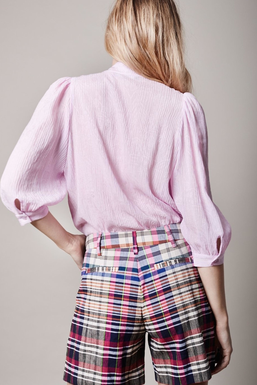 Smythe Pink Frontier Blouse - Front Full Image