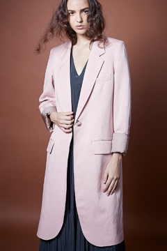 Smythe Pink Overcoat - Product List Image