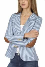 Smythe Striped Duchess Jacket - Product Mini Image
