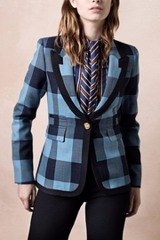 Smythe Striped Peaked Blazer - Product Mini Image