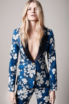 Smythe Tailored Floral Blazer - Product List Image