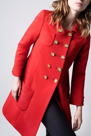 Smythe Tailored Mini Coat - Product Mini Image