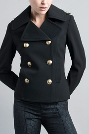 Smythe Tailored Pea Coat - Product Mini Image