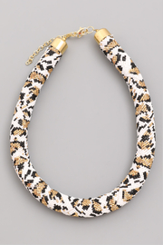 R+D  Snake Bead Necklace - Product Mini Image