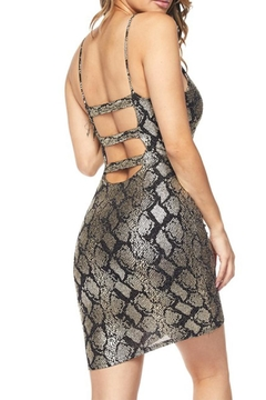 Hot & Delicious Snake Bodycon Dress - Alternate List Image
