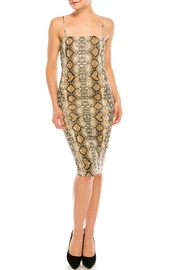 Renamed Clothing Snake Bodycon Dress - Product Mini Image