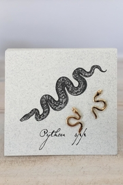 The Lovet Shop Snake Earring - Product Mini Image