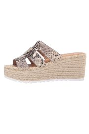 Marc Fisher LTD Snake Espadrille Wedge - Product Mini Image