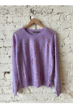 Brodie Snake Foil Sweater - Product List Image