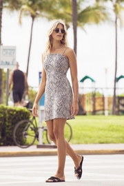 Fifteen Twenty Snake Jacquard Print Dress - Product Mini Image