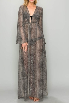 Shoptiques Product: Snake Maxi Dress