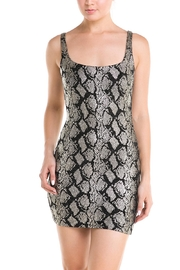 Lac Bleu Snake Mini Dress - Product Mini Image