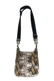 Ah!dorned Snake Mini Messenger with Solid Strap - Front cropped