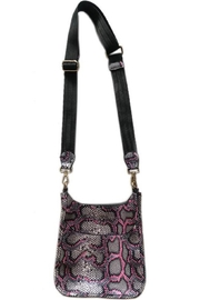 Ahdorned Snake Mini Messenger with Solid Strap - Product Mini Image