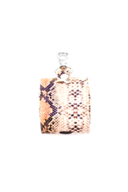 PL Snake Pattern Air Pod Case/Key chain - Front cropped