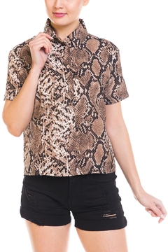 Renamed Clothing Snake Print Blouse - Product List Image