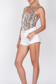 Fore Collection Snake Print Bodysuit - Product Mini Image