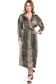 Her Bottari Snake Print Dress - Product Mini Image