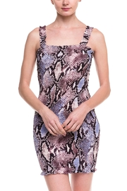 Wild Honey Snake Print Dress - Product Mini Image