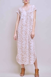 Entro Snake Print Dress - Front cropped