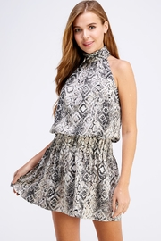 Do & Be Snake Print Dress - Product Mini Image