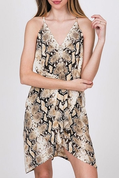Shoptiques Product: Snake Print Dress