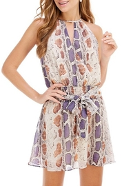 TCEC Snake Print Dress - Product Mini Image