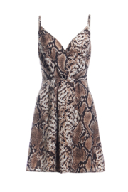 Renamed Clothing Snake Print Dress - Front cropped