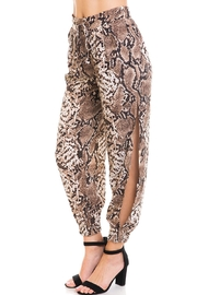dress forum Snake Print Joggers - Side cropped